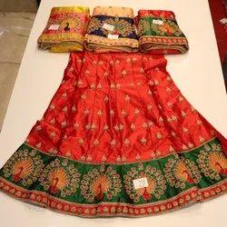Silk Designer Lahenga