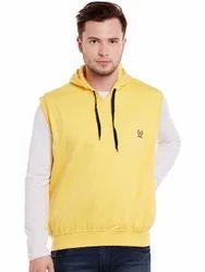 Vimal Mens Fleece Half Sleeves Sweatshirts for Men