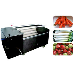 Root Vegetables Washing And Peeling Machine