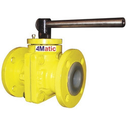 PFA Lined Ball Valve For Commercial