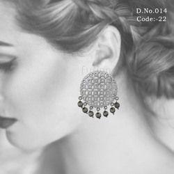 Antique Silver Polish Earrings