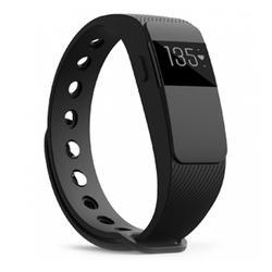 Black Heart Rate Activity Tracker Smart Fitness Band
