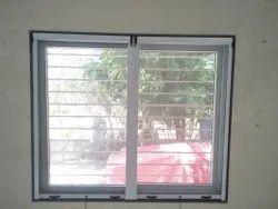 Aluminum Powder Coated Glossy Mosquito Net Window