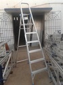 Platform Ladder with Handrails