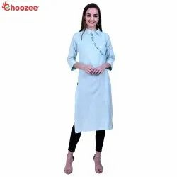 Glory Women Embroided Straight Kurta