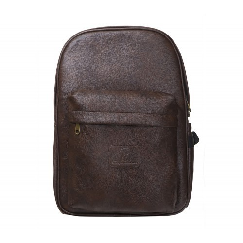 8726b34fed21 Pranjals House Dark Brown PU Leather Backpack at Rs 1199  piece ...