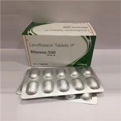 Tablet Levofloxacin Tablets IP, Packaging Type: Alu-Alu, Packaging Size: 10x10