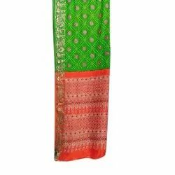 Bandhani Party Wear Saree with 6.3 m Blouse Piece