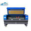 API-1490  Camera On Head Fabric Laser Cutting Machine