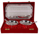 ICH German Silver Plated Bowl Set