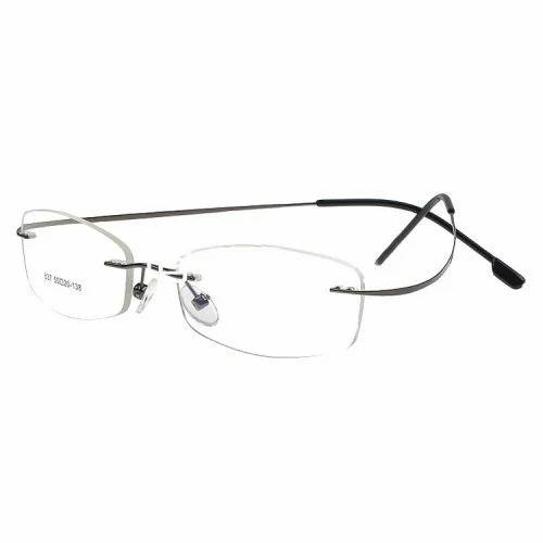 Male Rimless Frame Titanium, Rs 1290 /piece, Eyetech Optics | ID ...
