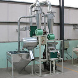 Semi-Automatic Flour Mill Machine