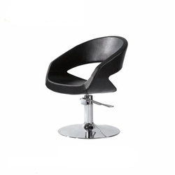 Black Styling Leather Salon Chair