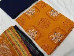 Poonam sarees Satin Designer Churidar Suit, Handwash
