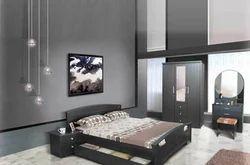 Fancy Wooden Bed
