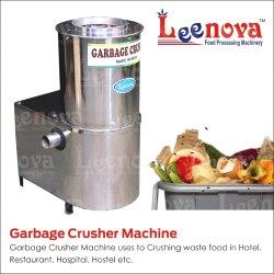 Ss Leenova Food Waste Crusher Machine