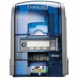 Datacard SD360 Automatic Dual Sided ID Card Printer Voter ID Card Printer Aadhar Card Printer