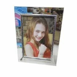 Crystal Photo Frame, For Gift, Size: 3 X 6 Inch