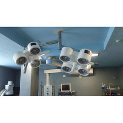 Twin Model Ceiling Mounted LED OT Light