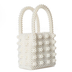 Handmade Pearl Bag Luxury Beaded Handbag