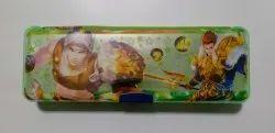 Golden HB 53 Plastic Pencil Box, For School Children