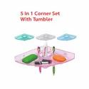 5 in 1 Corner Set with Tumbler