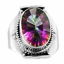 Mystic Topaz Rings Jewelry