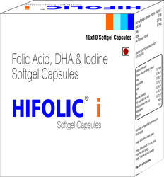 Folic Acid DHA And Iodine Softgel Capsules