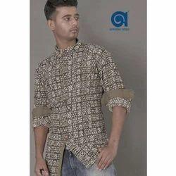 Cotton Mens Modern Shirt