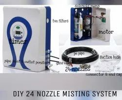 Disinfectant Tunnel Misting System