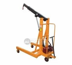 0.5 Ton Manual Mobile Floor Crane