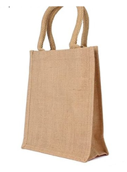 Jute Burlap Natural Bag