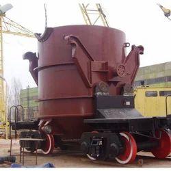 Hot Metal Ladle, for Industrial Premises, for Molten Metal Transportation