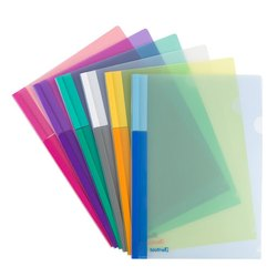 Plastic L File Folder, Paper Size: A4