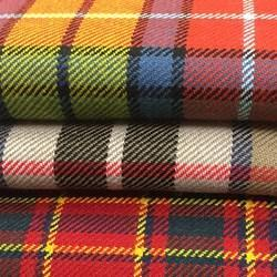 Wool Plaid Fabric