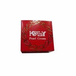 Kelly Pearl Whitening Cosmetic Cream, Packaging Type: Cream Jar
