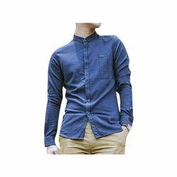 Men Medium Denim Shirt