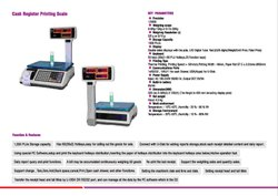 CASH REGISTER WEIGHING  MACHINE