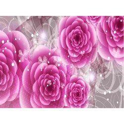 Flower wallpaper in delhi floral wallpaper suppliers dealers room wallpaper mightylinksfo