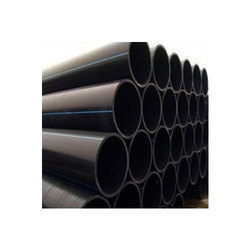 Round HDPE Pipe, Size: 2