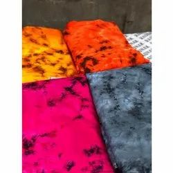 Hand Wash Tie Dyed Rayon Fabric
