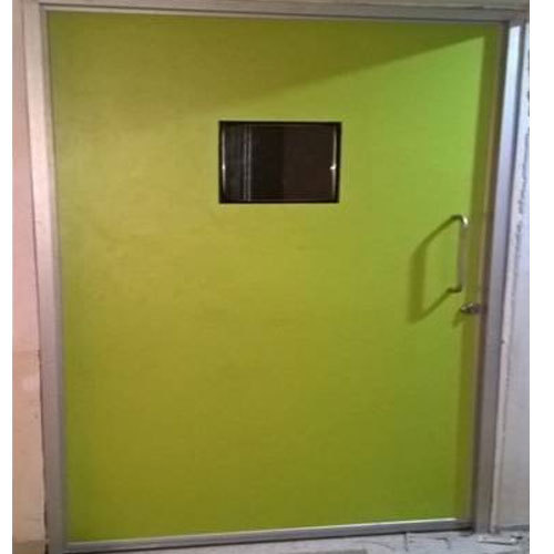 Green Operation Theatre Room Door