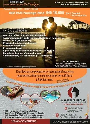 2n - 3d Honeymoon Resort Package SPL11