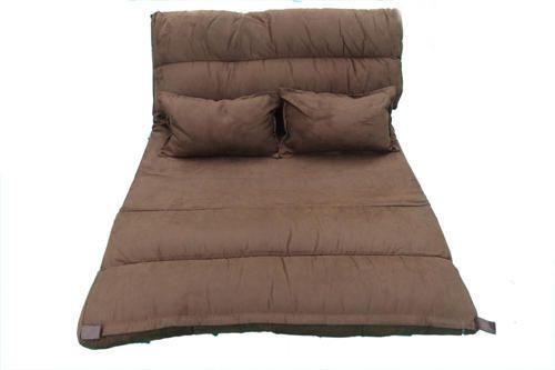 Verbazingwekkend Fleece Fabric Brown Sofa Cum Bed, Wide: 210 X 120 X 9 Cm, Rs 12500 EA-95