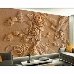 PVC 3D Designer Wallpaper