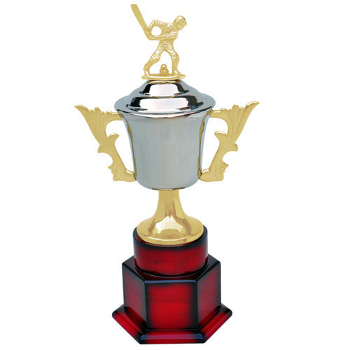 e1a84811667 Brass, Stainless Steel. Teak Wood Cricket World Cup Trophy, Rs 2000 ...