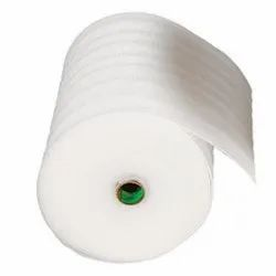 White Polyethylene Foam Roll