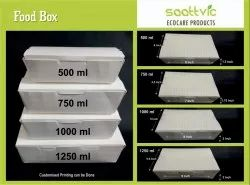 500 ML Paper Food Boxes
