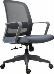 Jetta Grey Workstation Revolving Chair