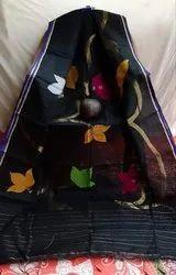 Handloom Floral Jamdani Sarees